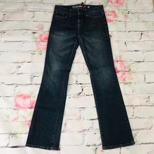 Guess Jeans Mid Rise Darkwash Bootcut size 27